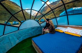 Camping Camino Inca