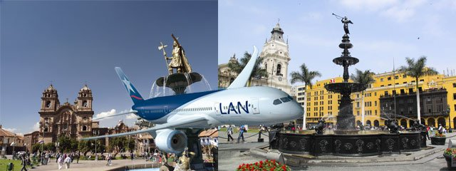 Vuelo de Cusco a Lima