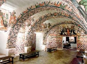 Frescos del Museo de Santa Catalina