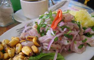 Ceviche a la peruana