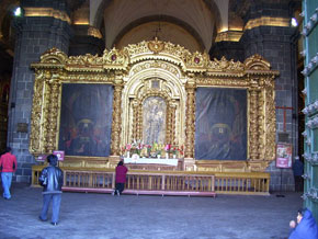 Lienzos del interior de la Catedral