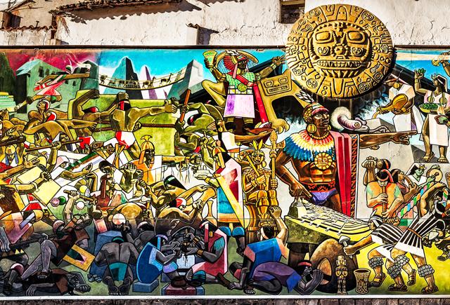 Conoce el Gran mural de la Historia de Cusco