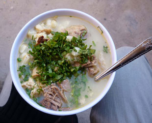 Plato típico Sopa de Mondongo