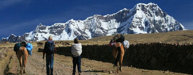 Camino a Salkantay