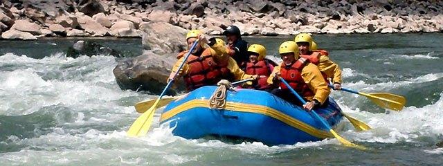 Canotaje rio Vilcanota