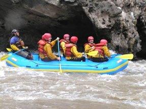 Canotaje en el Rio Chuquicahuana