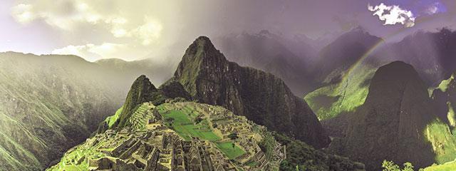 Amanecer en Machu Picchu