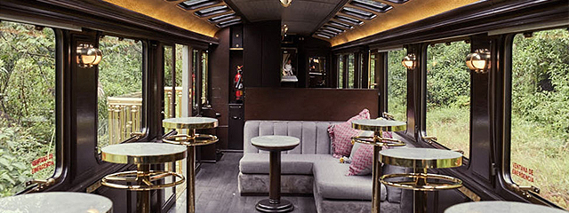 The First Class MAchu Picchu Train