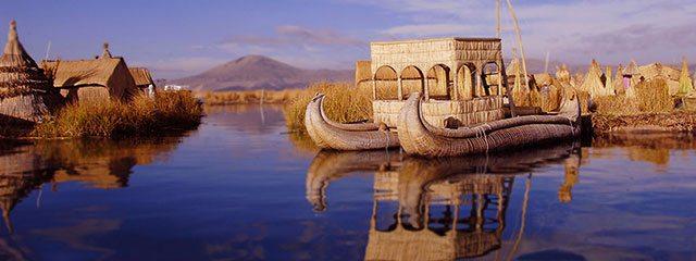 Isla los Uros Lago Titicaca
