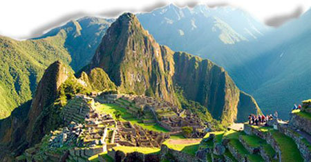 Machu Picchu Clásico Fotografía