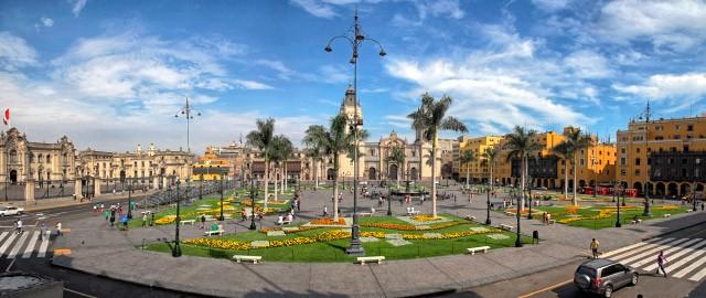 Plaza do Armas do Lima
