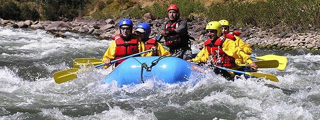 Canotaje en el rio Vilcanota - Chuquicahuana