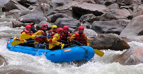 Canotaje en el rio Vilcanota - Cusipata